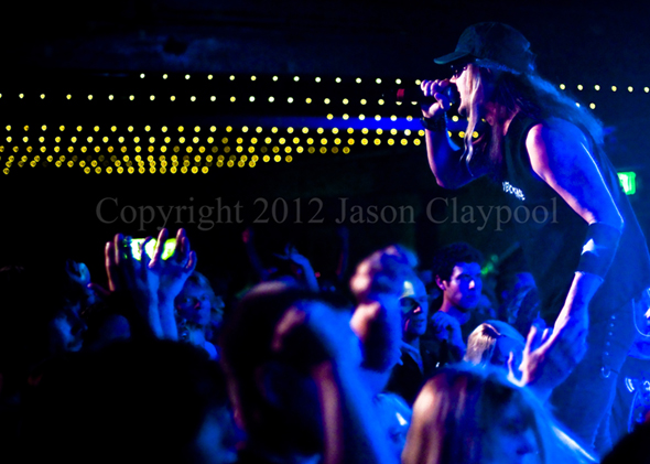 Skid Row at the Grizzly Rock, Lakewood, Colorado 081812, Copyright 2012 Jason Claypool